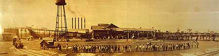 Cummer & Sons Sawmill in Sumner as it was in the early 1920s.