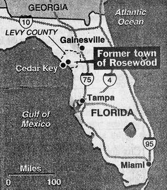 Rosewood Map